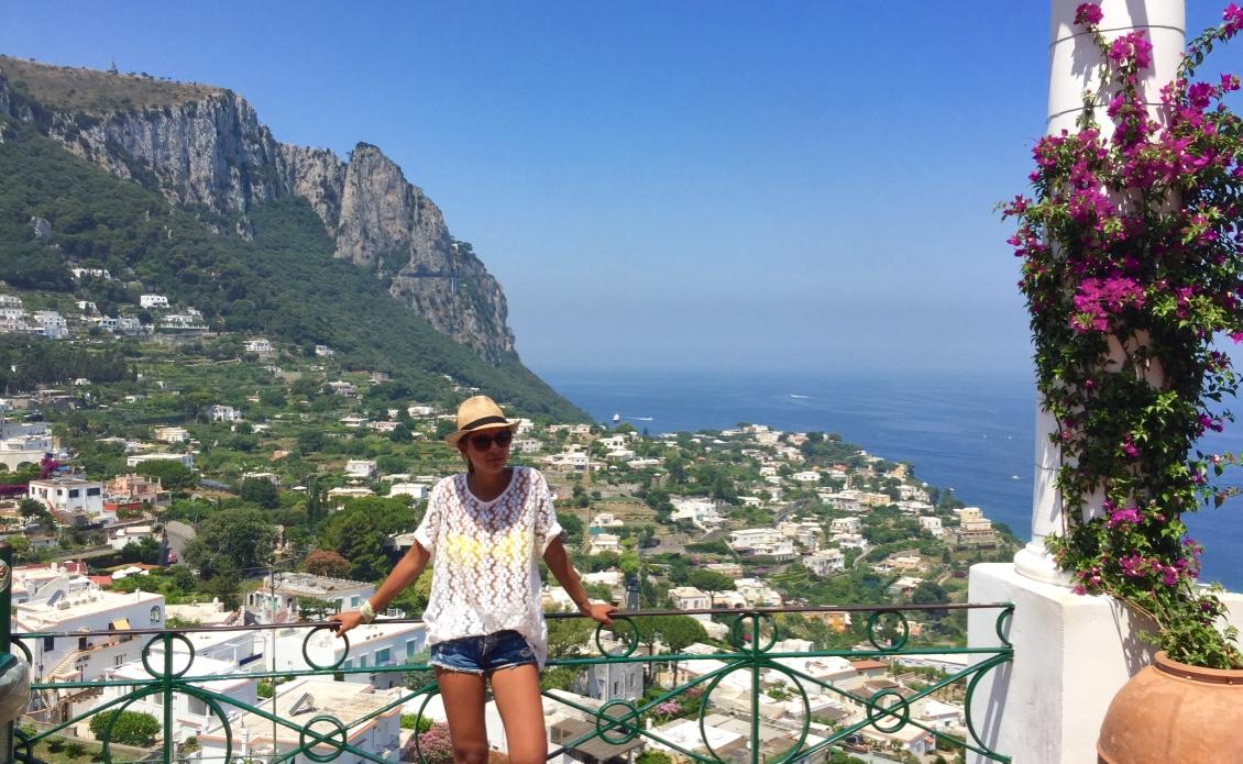 amalfi coast italy - capri
