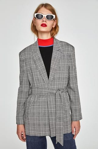 blazer zara - Lindsay blogueuse