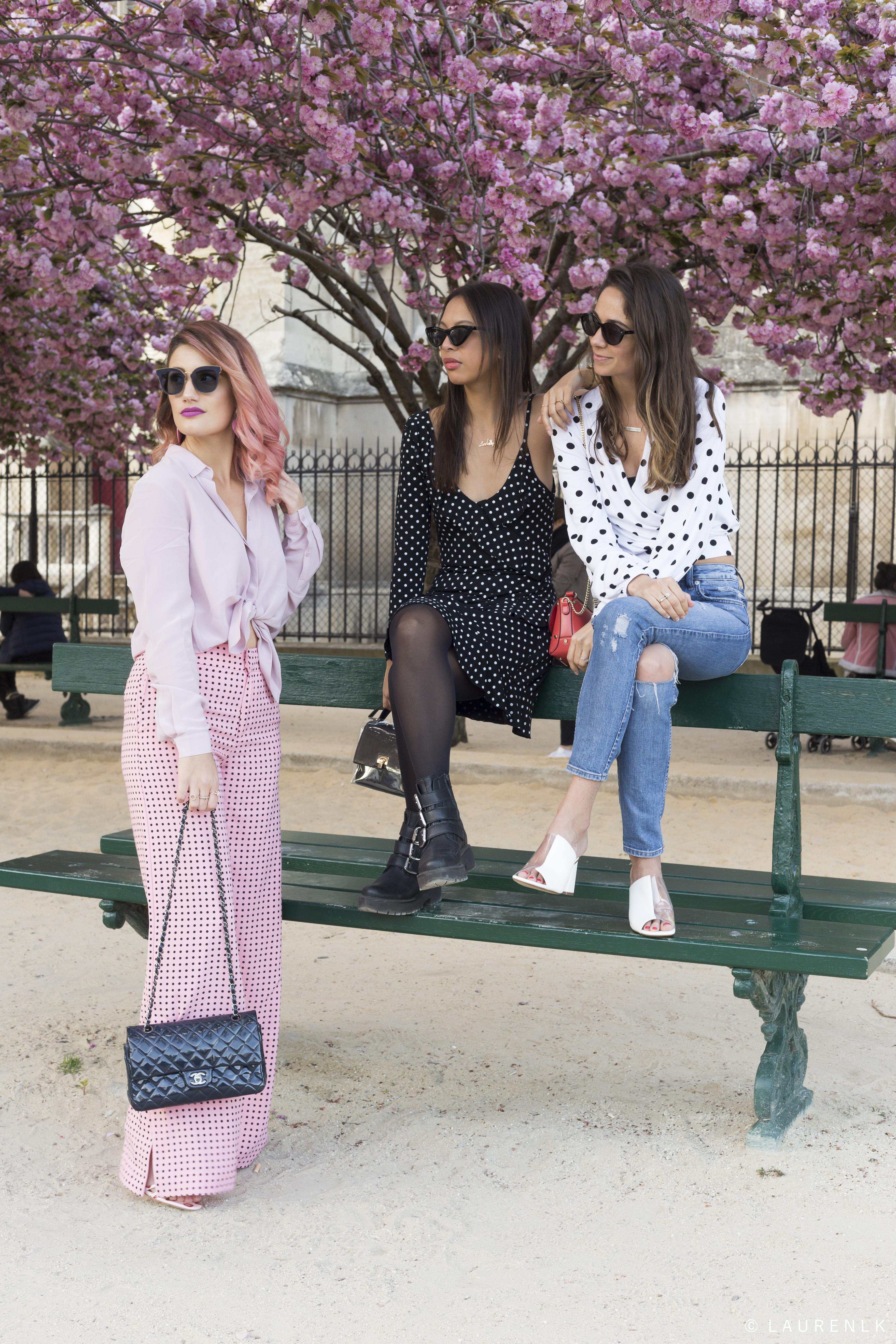 polka dot style - lindsay blogueuse
