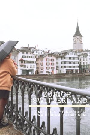 guide voyage zurich suisse