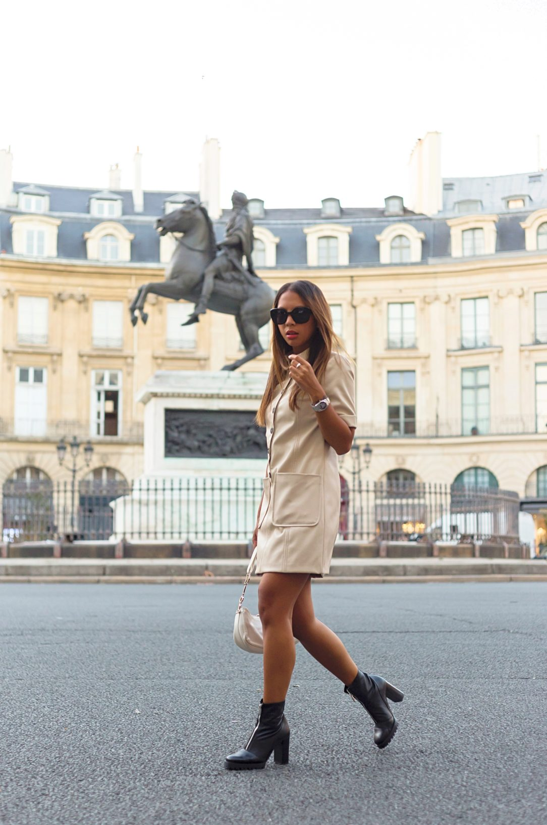 beige look - lindsay blogueuse
