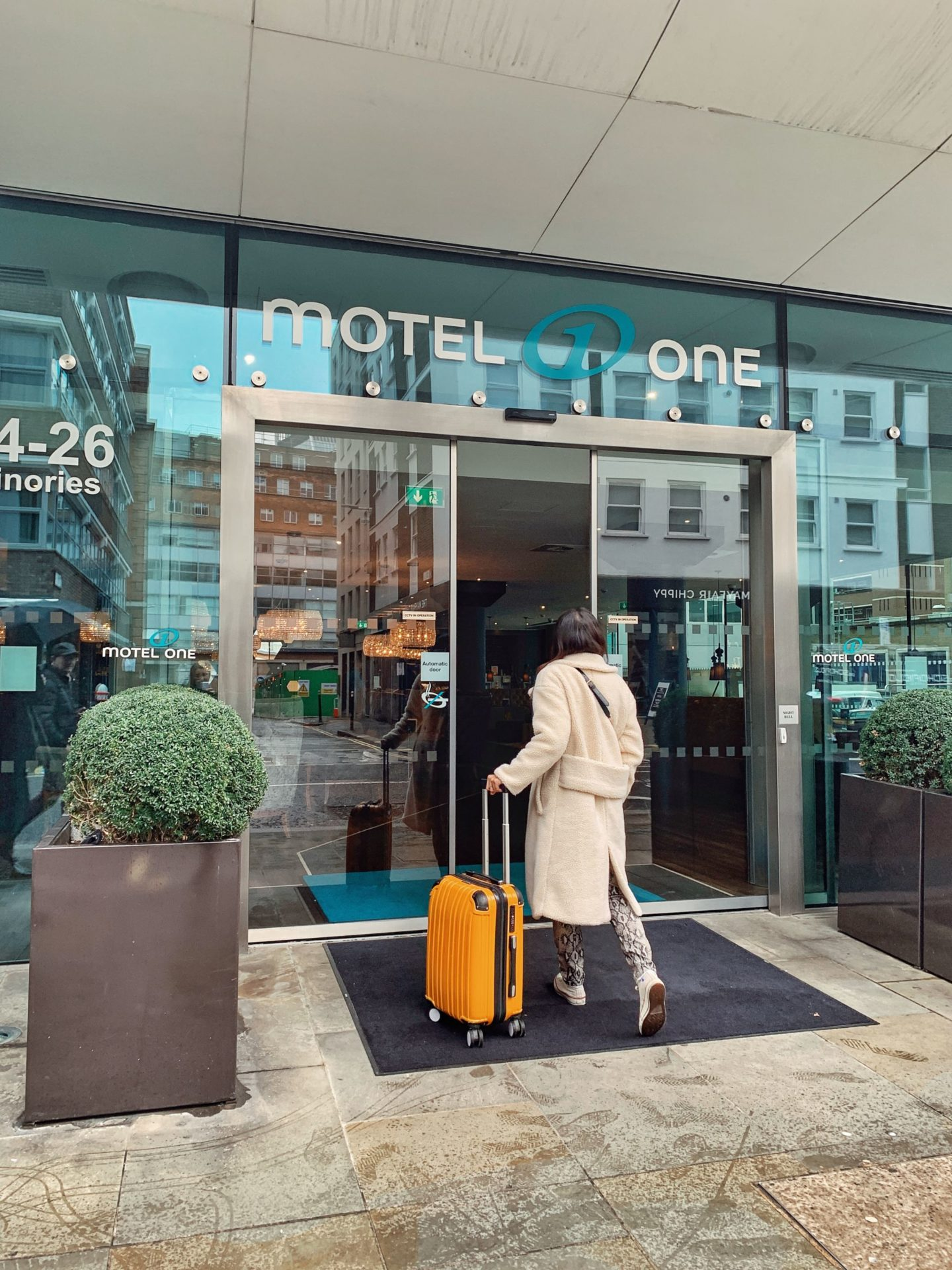 hôtel motel one londres