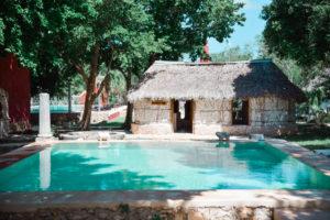 hotel hacienda ticum yucatan mexique