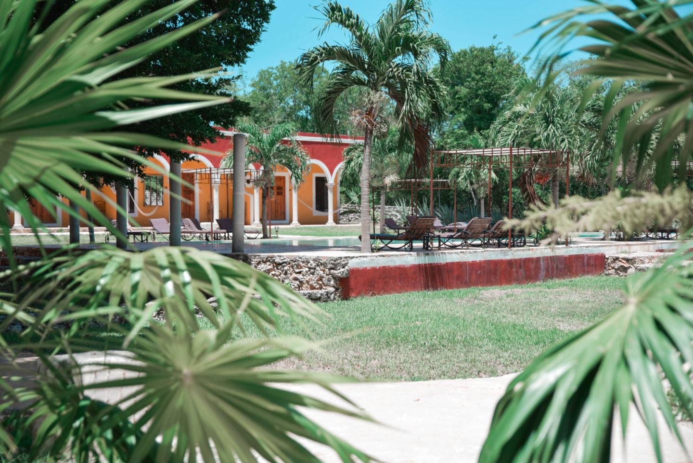 hôtel hacienda ticum mexique
