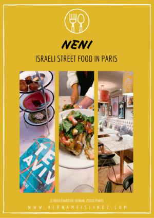 neni paris - israelienne cuisine