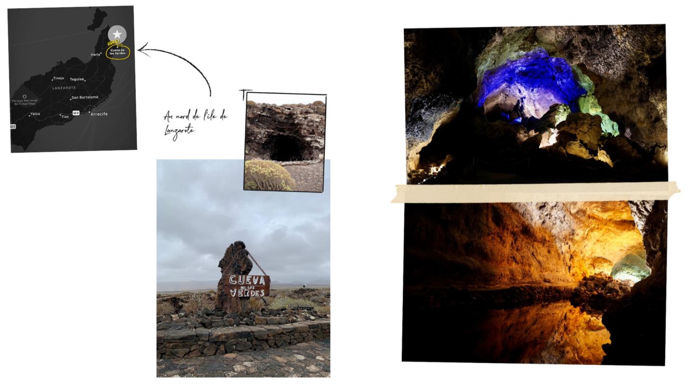 île de lanzarote - Cueva de los verdes